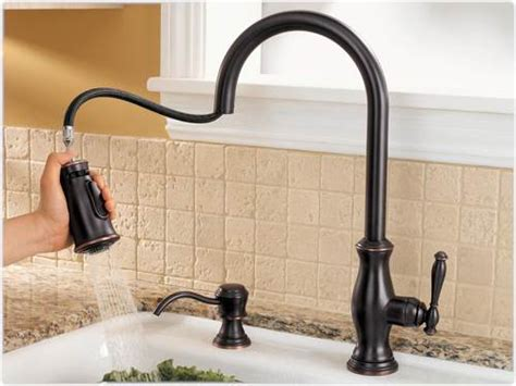 price pfister hanover kitchen faucet pfister hanover 1 handle pull kitchen faucet with