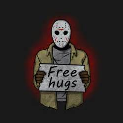 Wall Stickers B Q free hugs jason voorhees jason voorhees t shirt