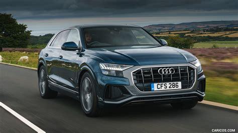 Audi Q8 S Line by 2019 Audi Q8 S Line 50 Tdi Quattro Uk Spec Front Three