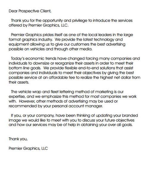 Introduction Letter Prospective Clients introduction letter to prospective clients docoments ojazlink