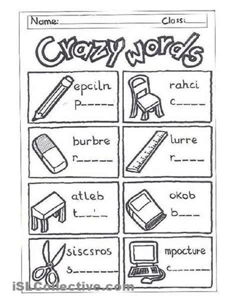 Classroom Worksheets by 17 Best Images About School Items On