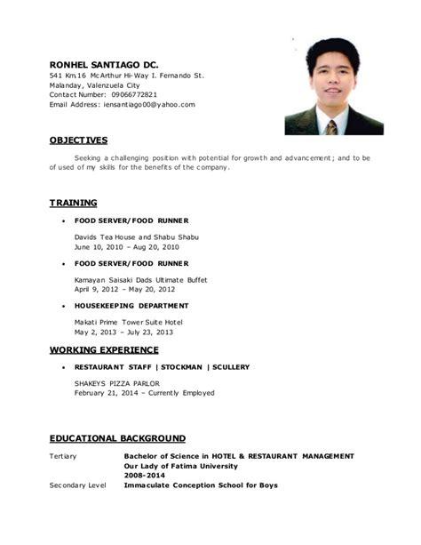 Copy Of Resume Format by Resume Original Copy