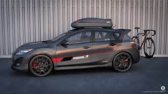 mazdaspeed 3 cycling edition 01 by dangeruss on deviantart