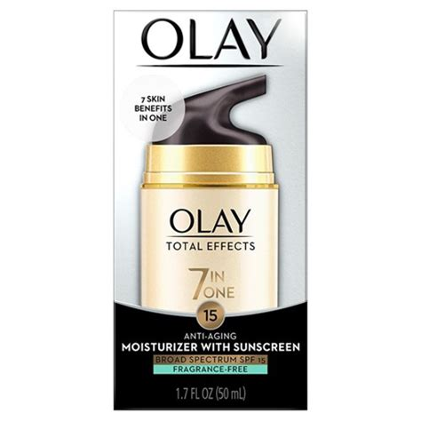 Olay Total Effects Anti Ageing olay total effects fragrance free moisturizer spf 15
