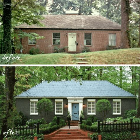 brick house exterior makeover our modest starter home might be our forever home curb appeal starters and bricks