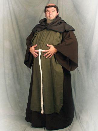 robin hoods friar tuck   robin medieval costume