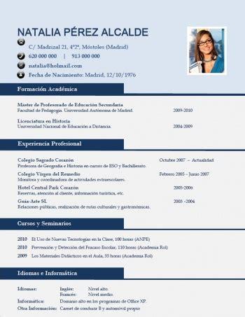 Modelo Curriculum Profesor modelo curriculum vitae profesor primaria essay helpers