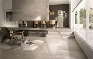 superb Decoration Mur Interieur Salon #3: carrelage-imitation-pierre-idee-amenagemen-salon-moderne.jpg