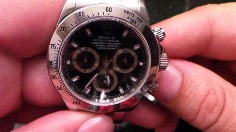 Rolex Daytona Comsmograph 116520 Black Ss Ultimate 1 1 rolex daytona ss real vs real or replica