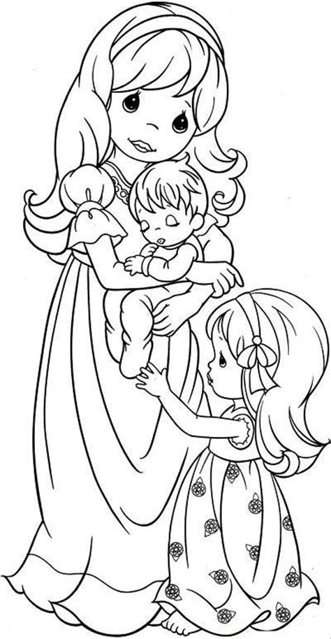 loving family coloring page robbygurl s creations interchangeable wreath