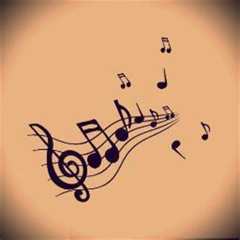 imagenes siluetas musicales palabra musical