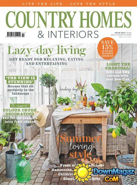 country home design magazines country homes interiors july 2016 187 download pdf