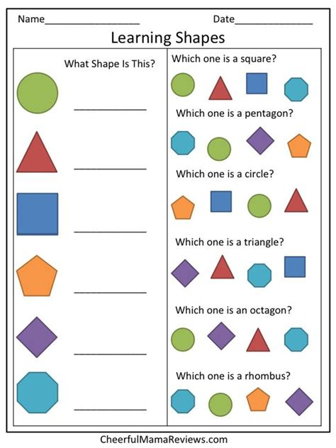 printable shapes and letters worksheets preschool learning worksheets chicochino