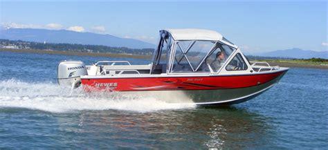 18 ft v bottom aluminum boat clemens marina portland and eugene oregon hewescraft