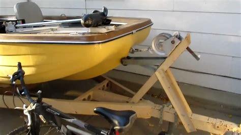 1973 monark fishing boat 1973 king fisher boat running a 1972 evinrude lark 50