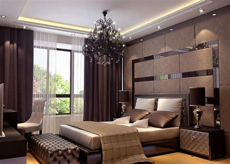 Home Mandir Decoration by Elegant Master Bedroom Interior Design