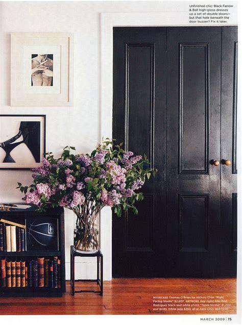 Black Doorways For The Entrance Entrance Closet Doorways Black Closet Doors
