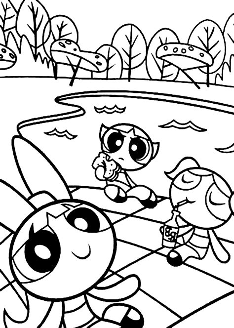 Power Puff Girls Z Coloring Pages Coloring Home Powerpuff Coloring Pages