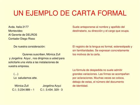 ejemplo de carta de empleador ppt la carta powerpoint presentation id 3829438