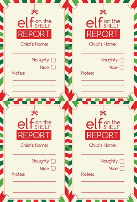 free printable elf report report card template 21 free word pdf psd eps format
