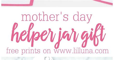 unique practical gifts for mother s day simple recipes mom s helper jar a simple cute and practical gift for