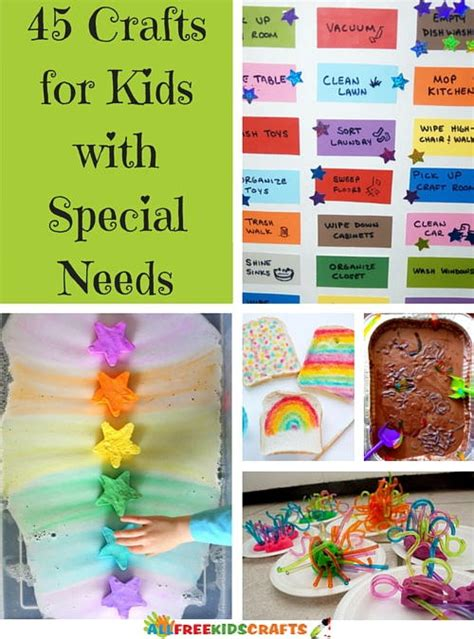 crafts for with special needs 45 crafts for with special needs allfreekidscrafts