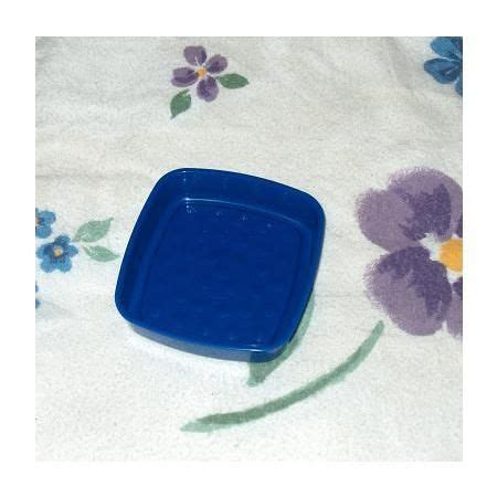 Tupperware Lucky Dish tupperware blue soap dish brillo pad holder gadget s o s collectibles housewares kitchen
