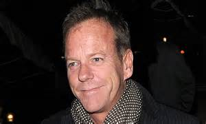 Kiefer Sutherland heads out wearing 24 character Jack Bauer's scuffed footwear   Daily Mail Online