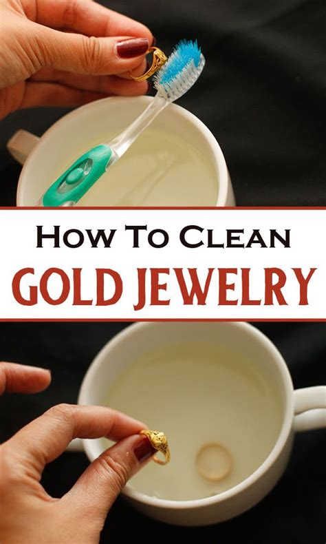 how to make jewelry cleaner for gold how to clean gold jewelry hacks the o
