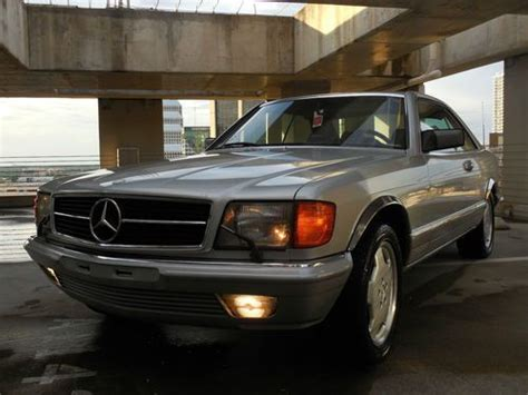 auto air conditioning repair 1985 mercedes benz s class free book repair manuals buy used 1985 mercedes benz 500sec coupe euro model excellent condition no rust fl in