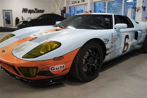 gulf ford gt lemans gt40 gulf tribute ford gt skepple inc