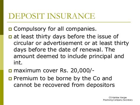 Section 19 Of The Federal Deposit Insurance Act by Loans Investments Deposits Related Companies Act 2013
