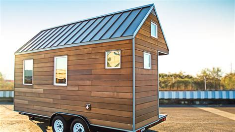 the miter box modern tiny house on wheels by shelter wise llc our models shelter wise