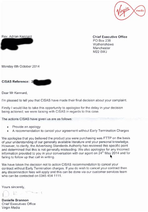 cancellation letter to bt update2 cisas advises media to apologise for fibre