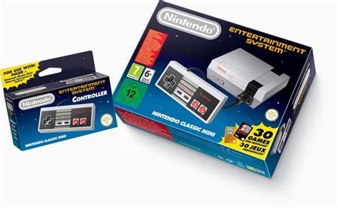 nintendo entertainment system console avec 30 jeux nintendo va sortir une mini nes pour