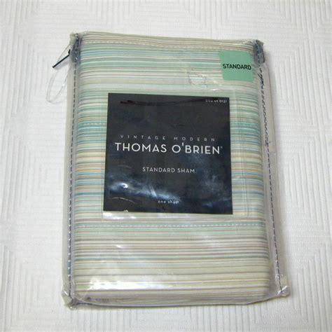 thomas o brien curtains thomas o brien natural willow stripe one standard sham