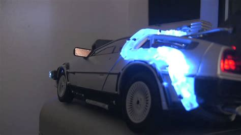 delorean with a flux capacitor for sale delorean miniature and flux capacitor h 264