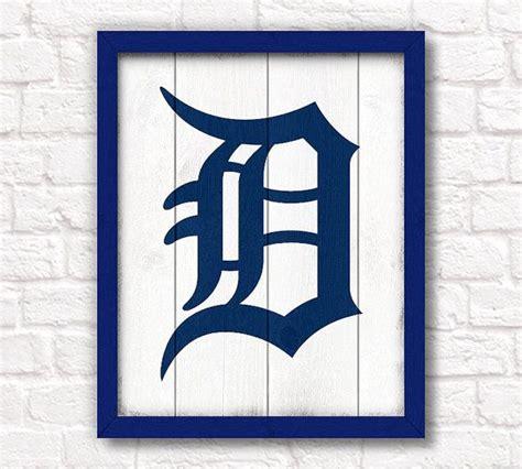baseball home decor pretty baseball home decor on detroit tigers rustic