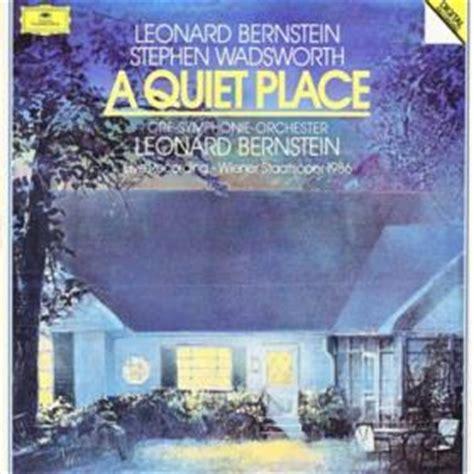 A Place Leonard Bernstein A Place By Bernstein Leonard Lp X 3 With Pamina Ref 2956341608