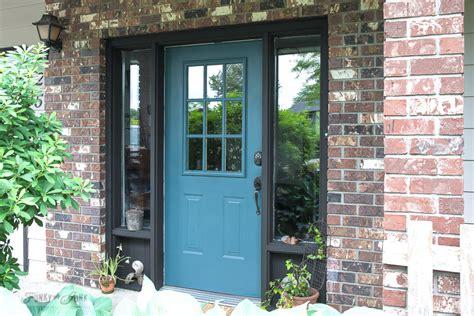 Repainting Front Door by Industrial Front Door Redo With Painting Tipsfunky Junk