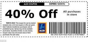printable grocery vouchers uk 2015 40 off aldi voucher circulating online is fake