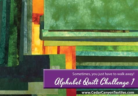quilt challenge alphabet quilt challenge 1 a start cedar