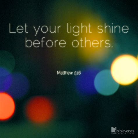 Let Your Light Shine Bible Verse by Shine Christian Poetry By Deborah