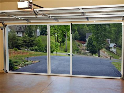 Screen For Garage Door Opening by Garage Garage Door Screen Door Home Garage Ideas