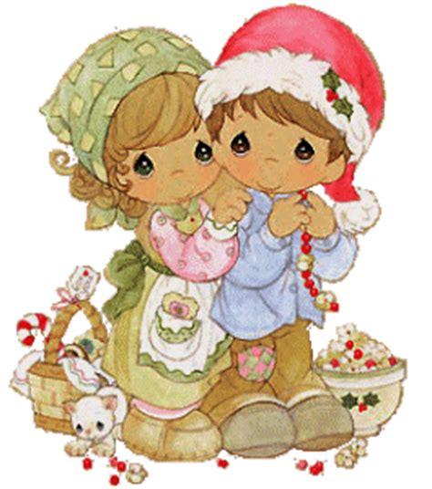 imagenes hermosos momentos precious moments en navidad preciosas imagenes