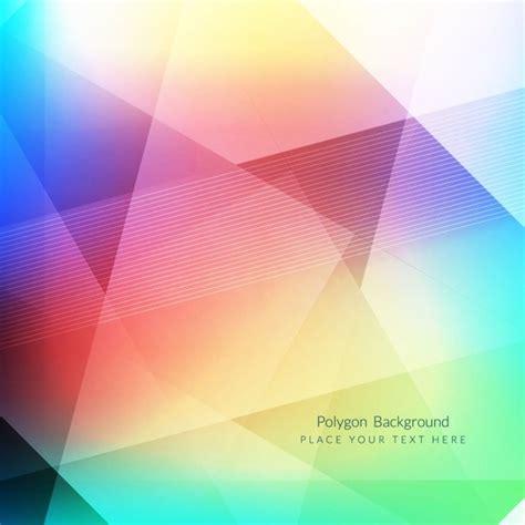 design backdrop modern colorful modern polygon background design vector free