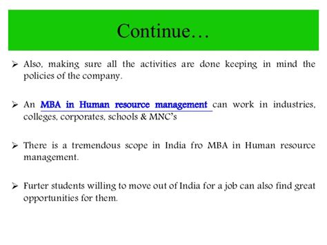 Benefit Of Mba In Hr by Amity Distance Learning Mba In Hrm Human Resource