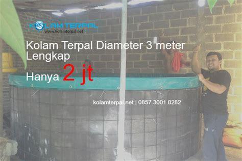 Harga Kolam Terpal Diameter 3 Meter harga kolam terpal bulat diameter 3m lengkap