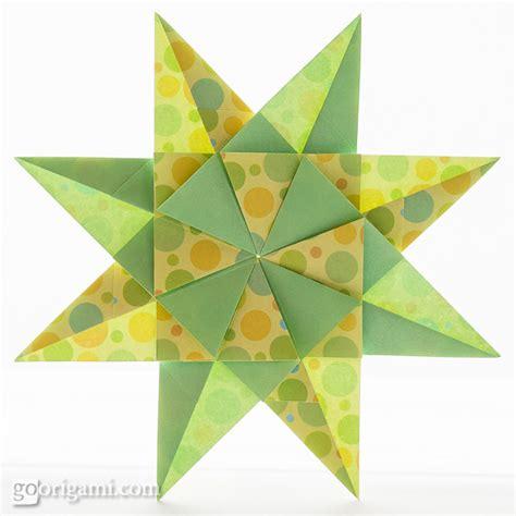 Modular Origami Patterns - origami paper waterdrop pattern jong ie nara korea
