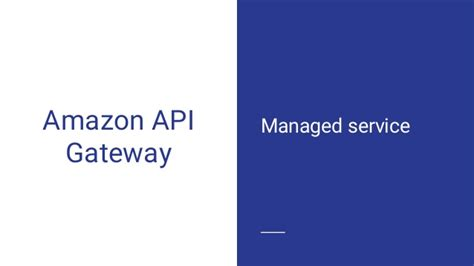 amazon api secure your apis with amazon api gateway